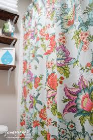 Worldmarket Curtains Main Bathroom Makeover Reveal Love Pomegranate House