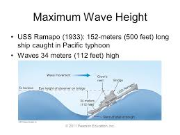 2011 pearson education inc chapter 8 waves and water dynamics