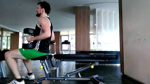 flat bench bench press with 20kg 44 lbs dumbbells youtube