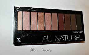 Wet N Wild Halloween Makeup by First Impressions Of Wet N Wild U0027s Au Naturel Palette In