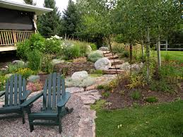 Patio Landscaping Ideas by Decor U0026 Tips How To Design Charming Landscape Using Pea Gravel