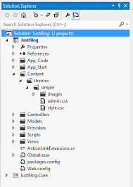 layout design in mvc 4 how to create a simple blog using asp net mvc part i