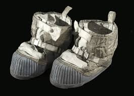 nasa halloween 12 humans have walked on the moon these boot were worn by the