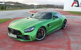 green mercedes 2018 mercedes amg gt r green car of the year the car guide