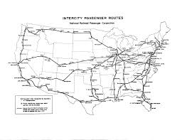 Amtrak Rail Map Railroad Documents