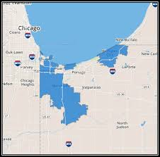 El Paso Zip Codes Map by Local Advertising In The Northwest Indiana U Verse Zone Comcast