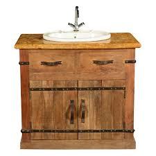 Wood Bathroom Furniture Farmhouse Mango Wood U0026 Marble Bathroom Vanity Cabinet