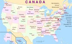 united states map with states and capitals labeled map of usa with labeled states map of the united states of america