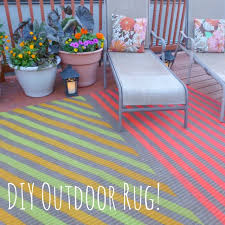 How To Make An Outdoor Rug My Insanely Awesome Diy Outdoor Rug Design Improvised