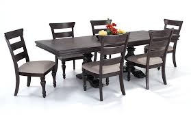 riverdale 7 piece dining set with wood side chairs bob u0027s