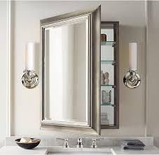 Bathroom Wall Medicine Cabinets Bathroom Recessed Bathroom Medicine Cabinet On Bathroom Regarding
