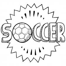 Soccer Sports Coloring Kidspressmagazine Com Soccer Coloring Page
