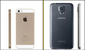 samsung galaxy s5 design iphone 5s vs samsung galaxy s5 and the winner is