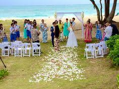 Waimanalo Beach Cottage by Beautiful Private Waimanalo Beach Beach Wedding Planners
