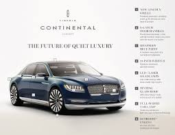 lincoln 2017 2017 lincoln continental to replace 2016 lincoln mks in late
