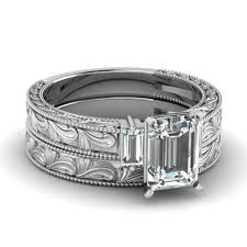 Kay Jewelers Wedding Rings by Wedding Rings Baguette Diamond Bridal Set Trio Wedding Ring Sets