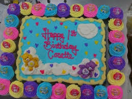 847 rainbow u0026 care bear birthday party ideas images