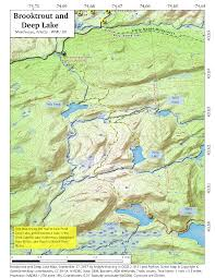 Tos Map West Canada Lake Wilderness U2013 Andy Arthur Org