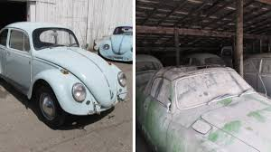 Barn Full Of Classic Cars Barn Full Of Air Cooled Volkswagens Heads To Auction Autoweek
