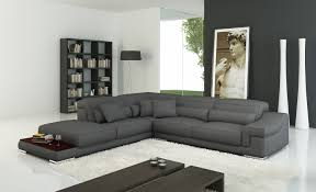 leather corner recliner sofa free gray leather sectional couches 5069