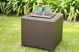 leather storage cube ottoman wicker coffee tables lilac design