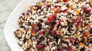 wild rice thanksgiving side dish wild rice pilaf with pecans and dried cranberries the splendid table