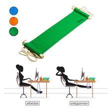 Schreibtisch 1 00 Meter Breit Amazy Fuß Hängematte U2013 Praktische Fußstütze Zur Entspannung Und