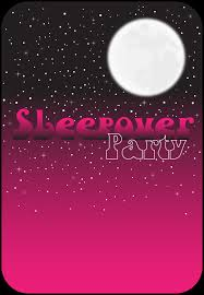 free printable pink night invitation sleepover invitations