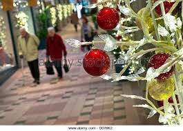Christmas Decorations Shop Westfield by Christmas Decorations Shopping Mall Uk Stock Photos U0026 Christmas