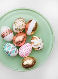 gold easter eggs incredibly chic gold easter eggs b lovely events