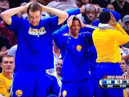 basketball bench celebrations 10 best nba bench celebration gifs business insider