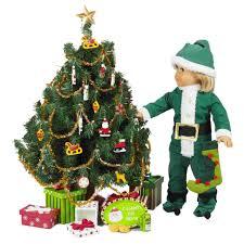 christmas tree doll christmas lights decoration