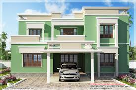 Flat Roof House Indian Flat Roof Villa In 2305 Sq Feet Kerala Home Design Kerala