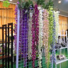 Wedding Wall Decor For Wedding Wall Decor Artificial Plastic Silk Flower Vine Buy