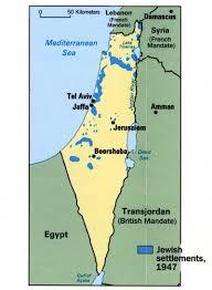 Jerusalem World Map by Israel
