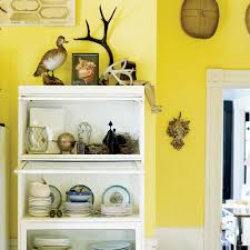 decorating with yellow sunset