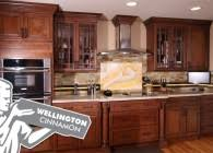 Cinnamon Shaker Kitchen Cabinets by Kitchen Cabinets Express Brooklyn Tile