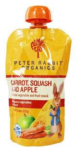 rabbit organics rabbit organics carrot squash and apple of 10 ebay