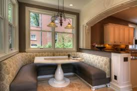 Dining Room Booth Modern Large Kitchen Booth Seating Design Managing Comfortable