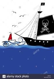 seafaring pirates ship sailor pirate cartoon salt water sea ocean