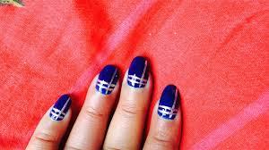 silver lines nail art in telugu language youtube