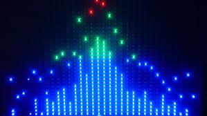 led graphic display dj spectrum analyser