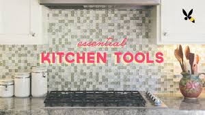 essential kitchen tools for your first apartment youtube