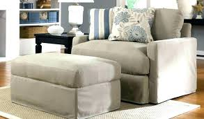 chair and ottoman slipcover fantastic armchair and ottoman slipcovers oversized chair and