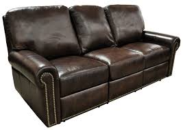 Gold Leather Sofa Recliners Chairs U0026 Sofa Fairfield Reclining Leather Sofa Club