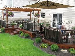 backyard deck design ideas deck and patio ideas for small