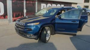 jeep trailhawk blue 2018 jeep cherokee north patriot blue at waterloo dodge youtube