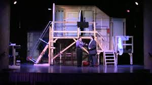 noises off garden theatre winter garden 2 youtube