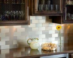 StoneSkin Dolomite And Grey Marble Peel N Stick Mosaic Tile - Backsplash tile peel and stick