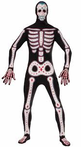 Body Halloween Costumes Dead Skeleton Costume Dead Costume